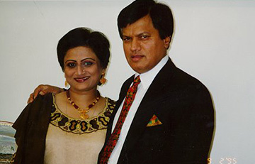 Ashok and Anjana Trivedi
